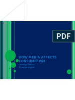 How Media Affects Consumerism