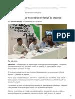 20-09-2018 Sonora, Tercer lugar nacional en donación de órganos - Uniradio Noticias.