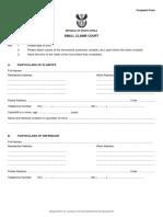 Scc Complaint Form