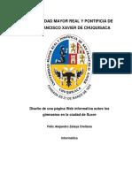Monografía Pagina Web