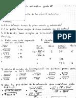 Ecuperación Aritmética Periodo 3_6to