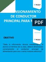Ok Dimensionamiento de Conductor Principal