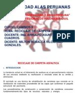 17.- Reciclaje de Carpeta Asfaltica Final