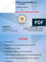 G7- Waste Reuse in Civil Engineering Works.