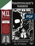 The Parapsychologist's Handbook