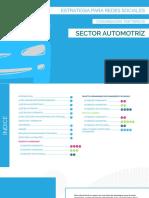 Estrategias Por Tópicos para  Sector Automotriz