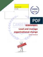 BSBINN601 Learner Workbook V1.3