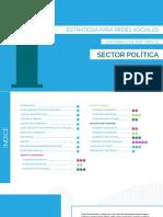 Estrategias por tópicos para el Sector Politica