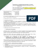 Junta Directiva Para Consorcio