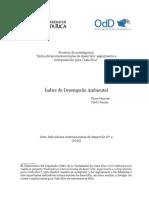 Proyecto de Investigación Indicadores Internacionales de Desarrollo, Seguimiento e Interpretación Para Costa Rica