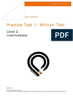 PTEG Written PracticeTest1 L2