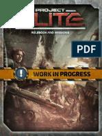 Project ELITE Rulebook WIP