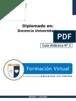 Guia Didactica 1-Docencia Universitaria