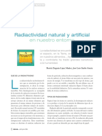 Radiactividad Natural y Artificial