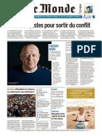 Journal Le Monde Du 29.04.2018