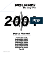 Sportsman 700 Twin Parts Manual Pn 9918612
