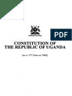 Constitucioon Uganda
