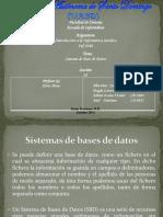 Sistema de Bases de Datos