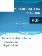 Musculoskeletal Infection