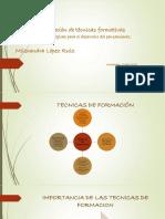 Evidencia_Implementacion de Tecnicas Formativas