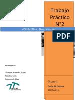 Informe Nº2 Volumetría - Neutralización