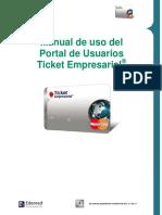 Manual Ticket empresarial