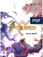 Wanted Earth Updated Rule Book