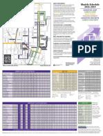 Northwestern Shuttle Map and Schedule