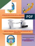 Monografia de Titulos Ejecutivos Cpc