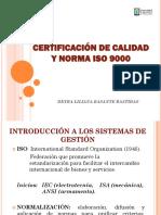 2 Certificación, Documentación e Indicadores de Gestión