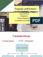 LENGUAJE PUBLICITARIO