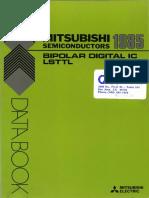 1985 Mitsubishi Bipolar Digital IC LSTTL Integrados