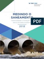 Fgv Ceri Medindo o Saneamento 2018