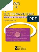 326050795 Problemas Resueltos de Electromagnetismo 2da Edicion Victoriano Lopez Rodriguez PDF