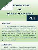 Instrumentos de Manejo Sostenible