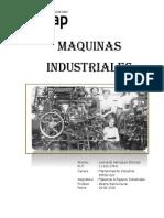 Informe Maquinas Industriales 2018