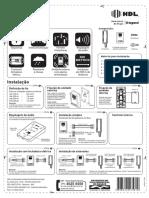 Manual Instalação Porteiro Eletrônico HDL F8-S