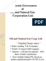 GMI Rating for ONGC