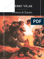 Vilar, Pierre. - Historia de Espana [2015]