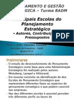 Apresentação 01- Escolas Do Planejamento Estratégico