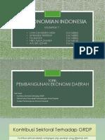 Perekonomian Indonesia - Kelompok 7.pptx