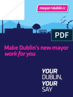 Mayor for Dublin Newsletter