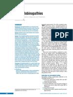 Hemoglobinopatias