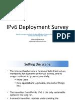 IPv6 deployment at 2012
