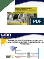 Presentación Proyecto Energia Solar