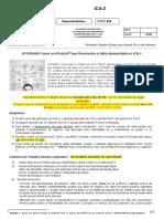 ICA II - Projeto Finalizando