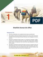 Pelajaran 1 Khalifah Utsman Bin Affan