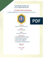 Monografia Macroeconocomia Bolivia