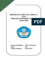 Cover Program Tahunan