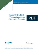 Eaton® Fuller® Transmisiones de Servicio Pesado